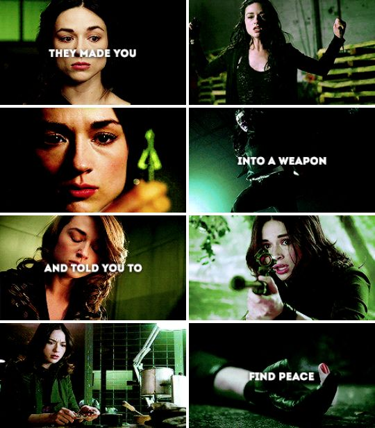 They made you into a weapon and told you to find peace #tw
