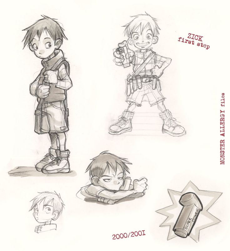 Character Design Pinup Art : Little boy sketch alessandro barbucci sketches