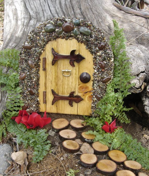 Fairy Door Ideas find this pin and more on ideas for robin fairy door in polymer Handmade Fairy Door Google Search