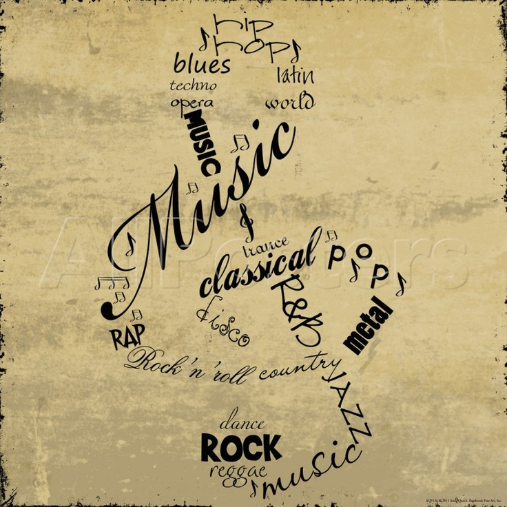 Contemporary Musical Note Wall Decor Image - Wall Art Collections ...
