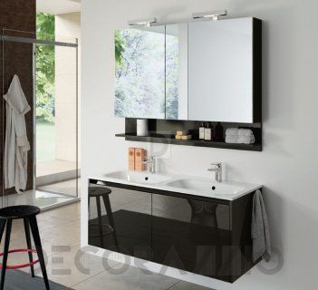 #bathroom #furniture #furnishings #interior #design #interiordesign комплект в ванную Milldue Dieci, infinito_120_doppio