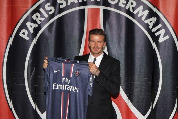 David Beckham joins PSG and gives salary to charity