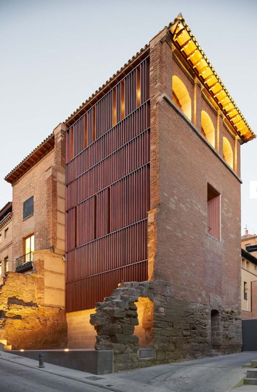 The historical archive and library of Husteca in Spain has been renovated to revive an important civic building and institution for the town. The renovation was led by the architects Ana Moron Hernandez, Raymond Bambo Naya and Pedro Lafuente also working with Nuria Montero García. They managed to find a contemporary language that resonates with the historical built fabric.