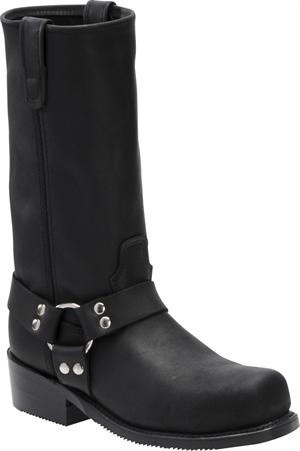 Men's Double H Boot 12 Inch ST Harness Boot - Black