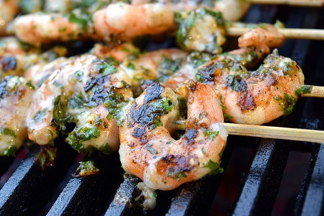 One of my favourite things about Summer cooking is barbecuing. Well, coming up with recipes for the barbecue, anyway. I've mentioned before I'm not the best person on the grill, but when it comes to i