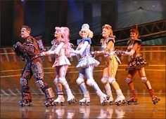 Starlight Express. It's a musical about trains, okay?