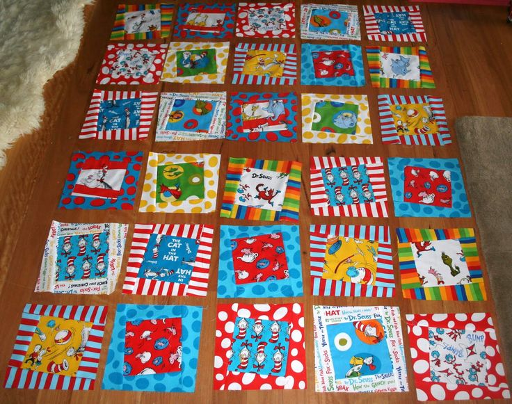 Gone Aussie Quilting: Dr. Seuss Quilt Wonky Quilt Top Finished