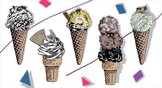 Find out your fashion ice-cream!