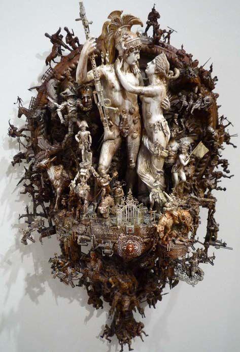 Kris Kuksi - AMAZING sculpture