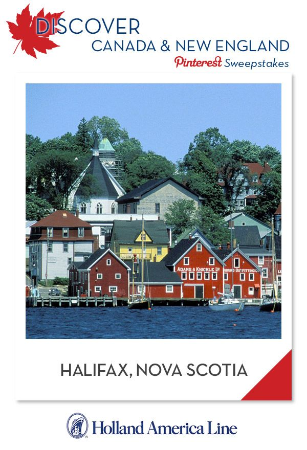 #Discover Canada/New England Pinterest Sweepstakes If Halifax, Nova Scotia is your favorite Canada/New England destination, enter the @HALCruises Discover Canada & New England Pinterest Sweepstakes for your chance to win a 500.00 American Express gift card.