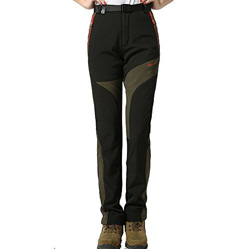 Cool Women Hiking Pants Thermal Pant Waterproof Fleece Termico Mujer