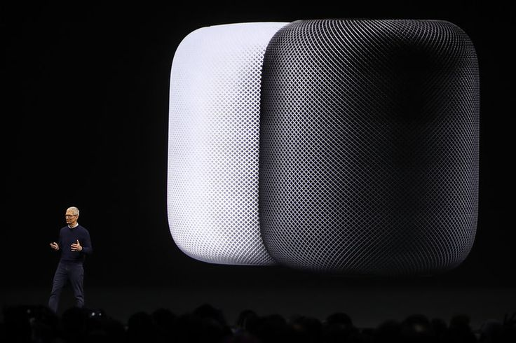 Apple's New HomePod Smart Speaker Promises to Reinvent Home Audio. The HomePod will stream more than 40 million songs from the Apple Music library while using Siri's voice-recognition skills and real-time AI to double as a personal assistant.  Apple's New HomePod Smart Speaker Promises to Reinvent Home Audio - Seeker