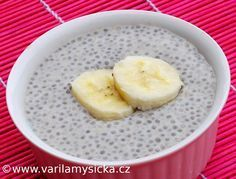 Banánový chia pudink - extra výživná svačina i báječný dezert