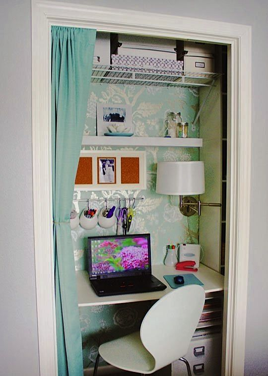 Home comforts: Closet office planning