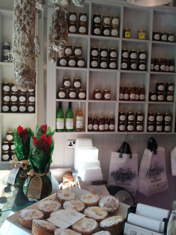 Moineau & Co cordial and lovely goodies at the Ginger Pig in Marylebone
