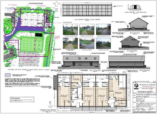Drawing Preparation for Planning and Building Regulation Applications – Russen & Turner Design regularly prepare drawings for both Public and Private Sectors, including submitting Full Plans Applications, Conservation Area and Listed Building Applications and Change of Use Applications. Russen & Turner Design undertake design work for single and multiple dwelling sites, commercial and retail units or mixed zone use.