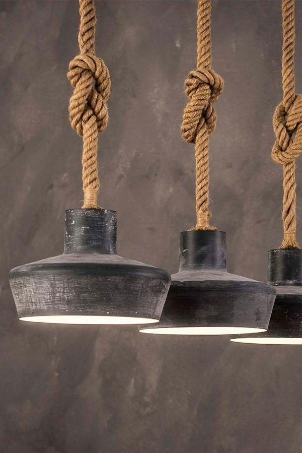 Hangelampe Rope Ii Wohnaura Lampen Design Einrichten Inneneinrichtung Interior Interiordesign Raumgestaltung Wohna Industriedesign Lampen Lampen Lampe