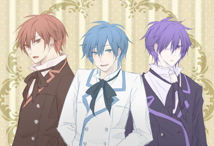 Akaito, Kaito & Taito | Vocaloid | Pinterest | Kaito ...