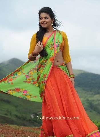 Anjali Half saree photos