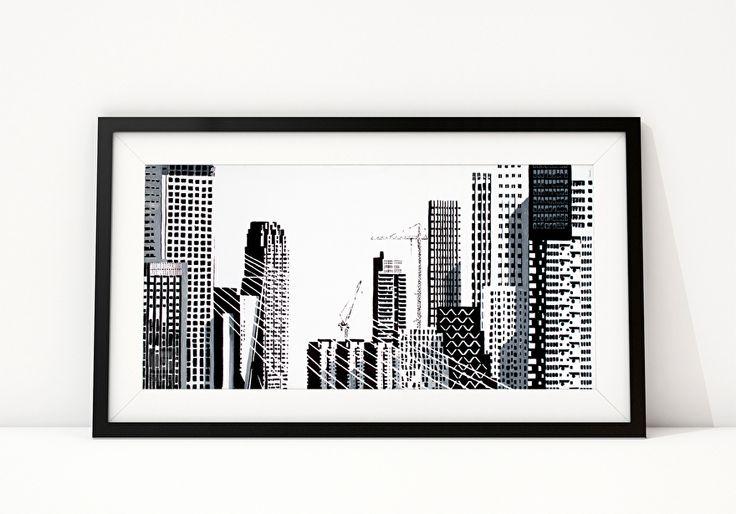 PATTERNS OF ROTTERDAM I Rotterdamse heeft een breed scala aan verschillende typen hoogbouw. De patronen, vormen en ritmes van de raampartijen geven elk gebouw haar karakteristieke uitstraling. Hoewel afzonderlijke gebouwen meestal vrij monotoon patroon hebben, vormen de gebouwen samen een speelse eenheid.