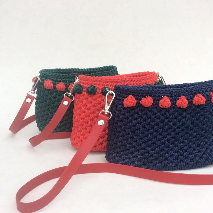 Children's Crochet Bags