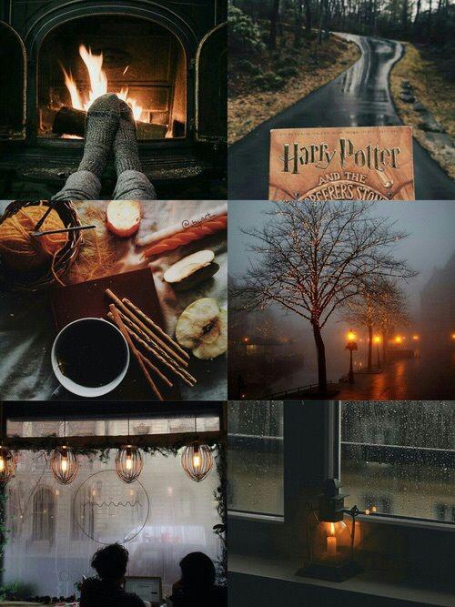 Imagen de autumn, harry potter, and book