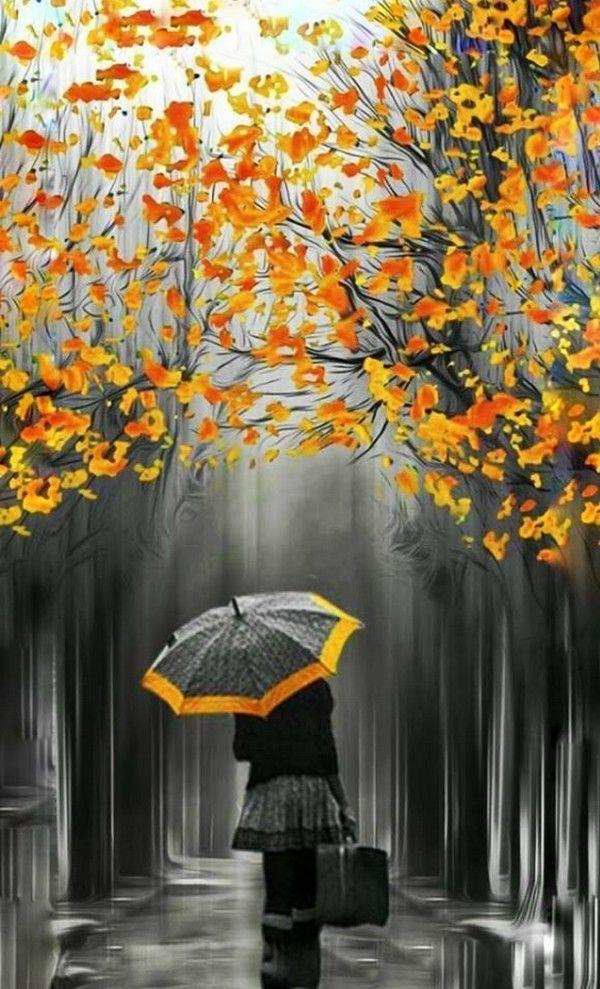 Картинки надписями, картинки прикольные осень дождь