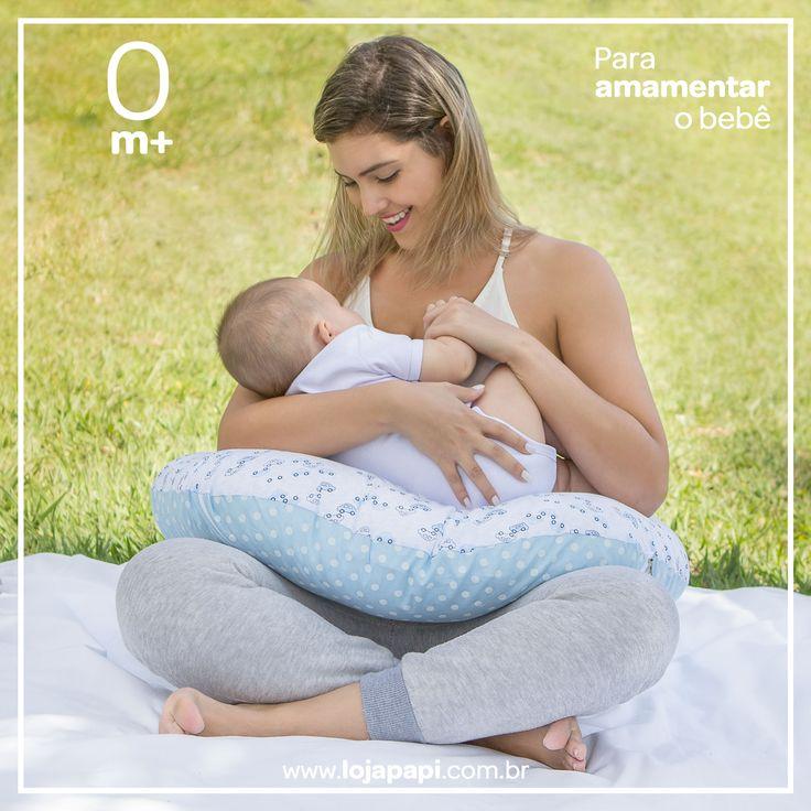 ♥️Almofada de amamentação e apoio para o bebê ❤️ Um produto versátil. Seu design foi desenvolvido para dar mais segurança, conforto e estabilidade para a mãe pois se encaixa perfeitamente auxiliando na amamentação. Além da amamentação a almofada pode ser usada em diversas fases do crescimento do bebê: . 0m+ Apoio para amamentação 0m+ Um ninho para descansar 6m+ Para treinar a engatinhar 9m+ Para aprender a ficar sentado  Procure pelo código 2650  www.lojapapi.com.br