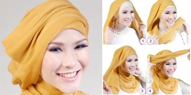 Vemale.com - Ada banyak tutorial hijab yang bisa diikuti, tetapi tidak semua cocok untuk dipakai di acara casual atau sehari-hari.