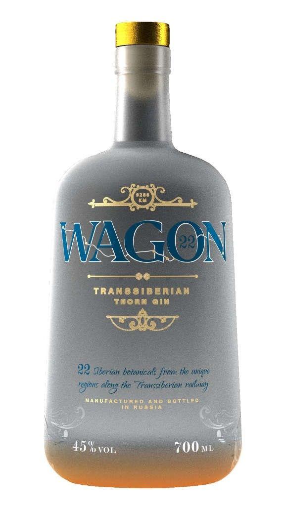 Wagon 22 Transsiberian Gin 0,7l | Gin | Gin getränke, Gin