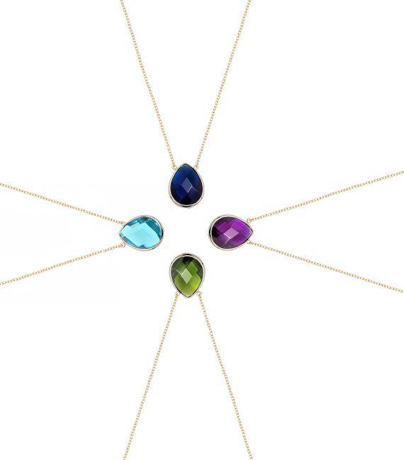 Crystal Necklace Swarovski Necklace Sterling Silver by iPreciousgr
