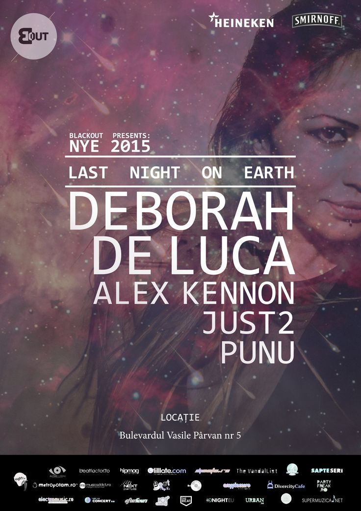 One of a hell NYE with Deborah de Luca.
