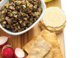 Mushroom Caviar: A classic, savory spread made from minced mushrooms ...