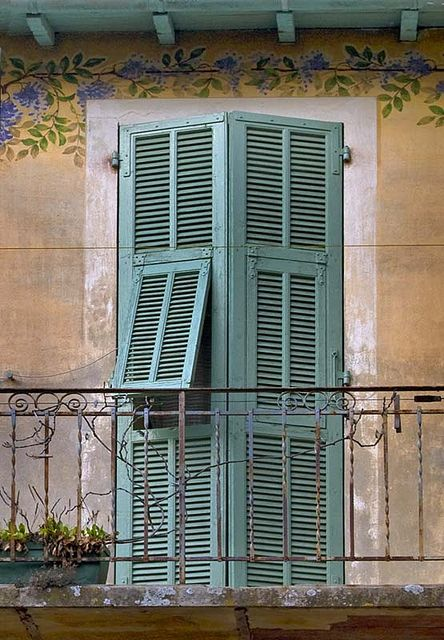 Rita Crane Photography: Shutters & Wisteria, Provence | by Rita Crane Photography