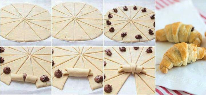 #Coisant de chocolate