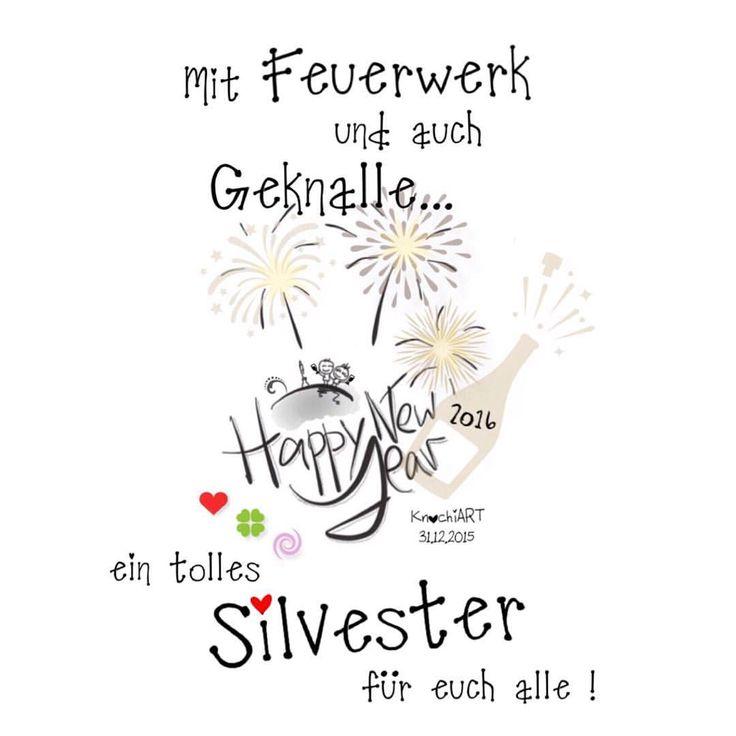 Der #Countdown läuft ⏳ noch 12h dann haben wir schon wieder #2016  Ich wünsche euch allen ein tolles #Silvester   mit allem was dazu gehört und kommt gut ins Neue #Jahr  #spruch #sprüche #sprüche4you #spruchdestages ✅ #knochi_art (hier:...