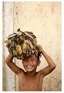 Filipino - always with a big smile...