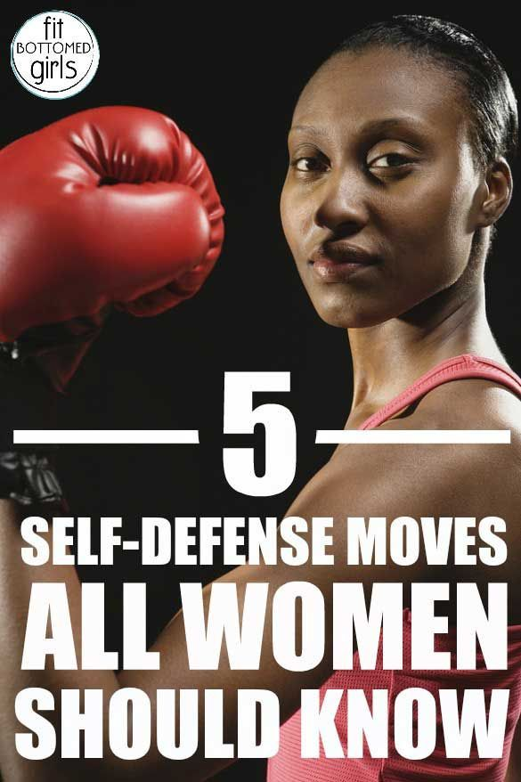 Learn 5 self-defense moves that every woman in your life should know!
