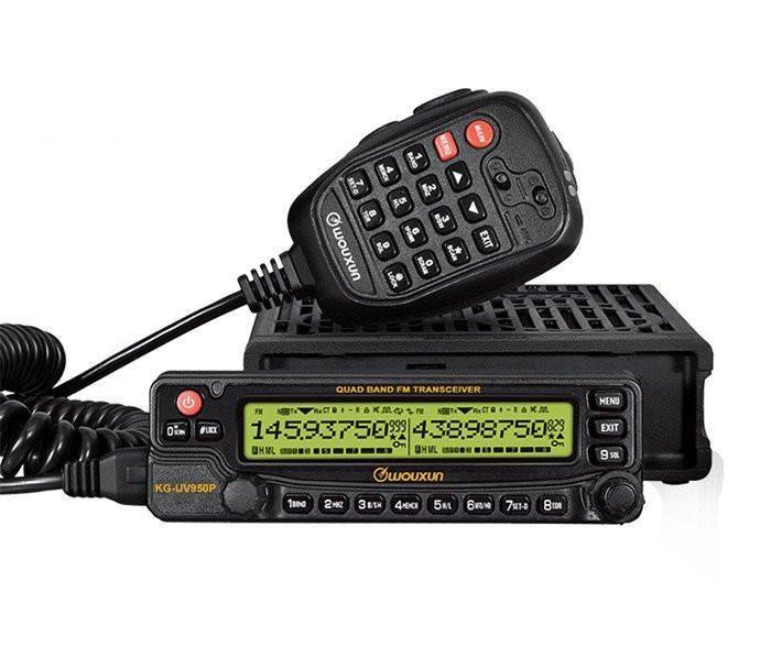 Wouxun KG-UV950P 6M/10M/VHF/UHF Quad Band Mobile Amateur Ham Radio $399.99  Visit Fleetwood Digital for ~400+ #HamRadio #hamr related items! https://goo.gl/gNeU2R