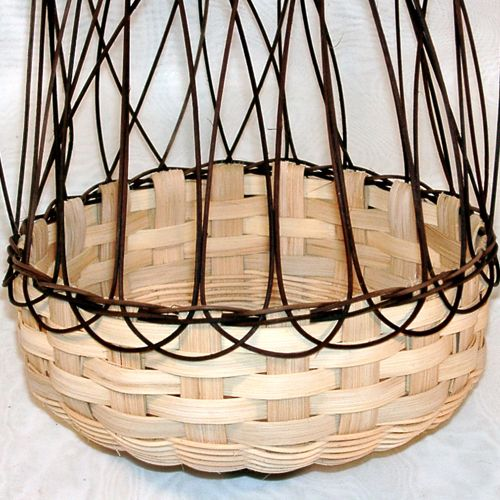 Very nice tutorial on braided basket rim--Braid Diagram 2