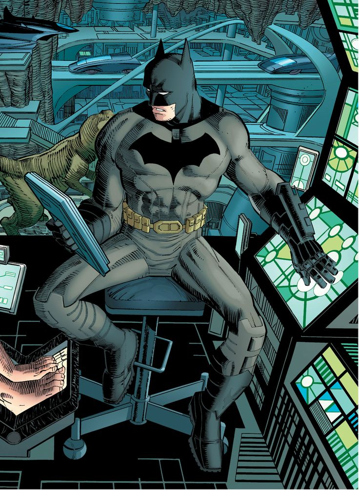 Batman by John Romita Jr