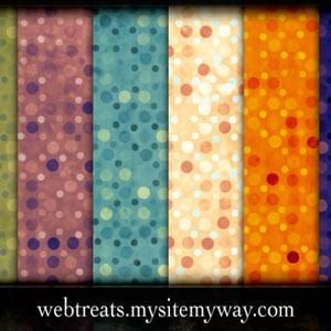 Exotic Polkadots Patterns