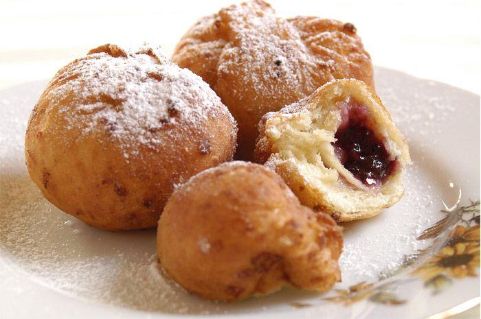 American Jam Doughnuts #recipe.
