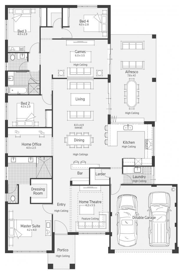 ArchipelagoII Display Home - Lifestyle Floor Plan