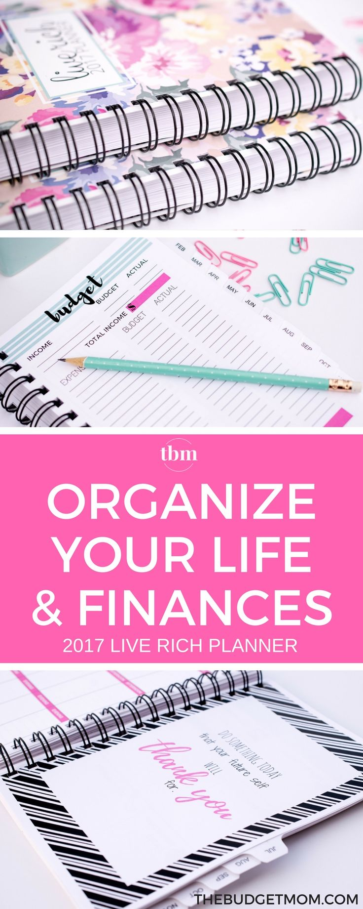 Planner | Budget | Get out of Debt | Save Money | Organize via @thebudgetmom