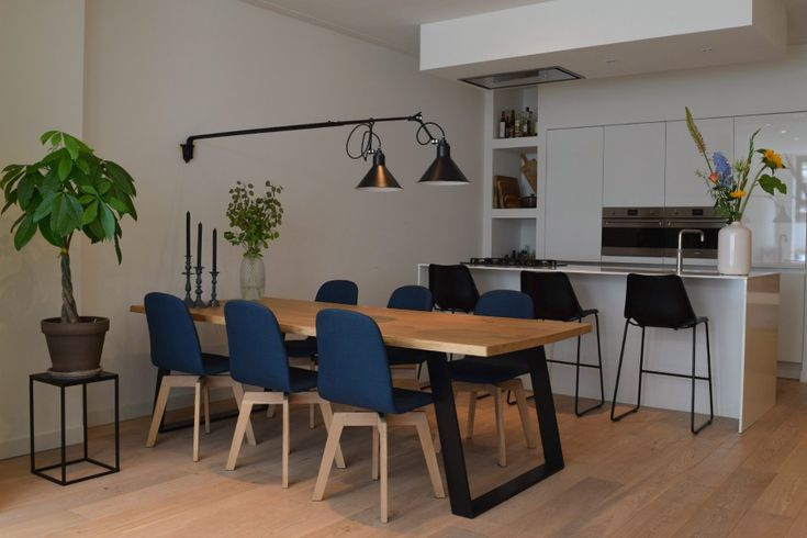 25 beste idee n over kookeiland tafel op pinterest eiland tafel hedendaagse keukens en - Centraal eiland om te eten ...