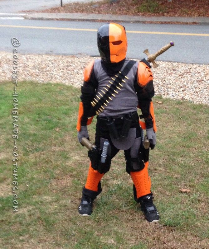 Deathstroke costume for a 9 year old boy old boys boys for 9 year old boy halloween costume ideas