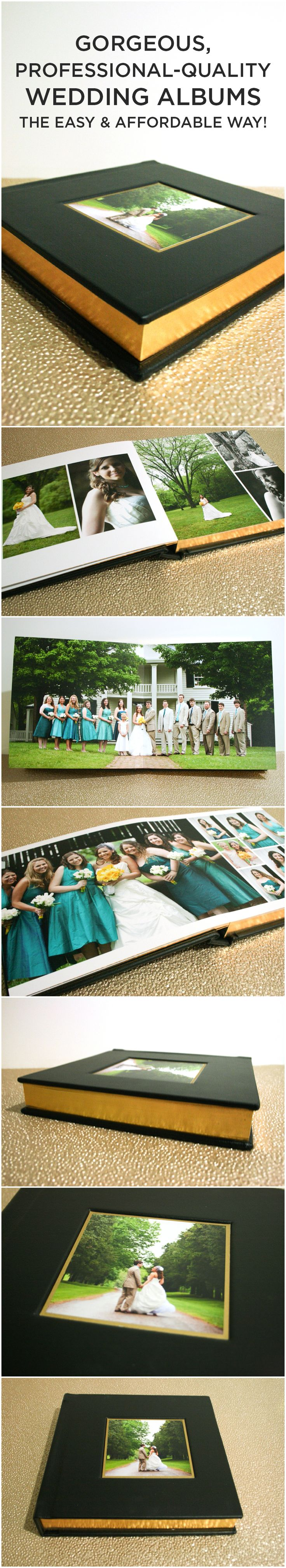 Gorgeous, professional-quality wedding albums the easy and affordable way, with MyPublisher!