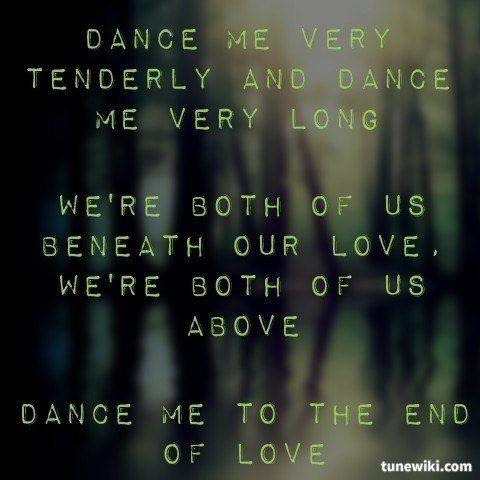 Bet You Can't Do It Like Me Lyrics Dance Me To The End Of Love - image 2