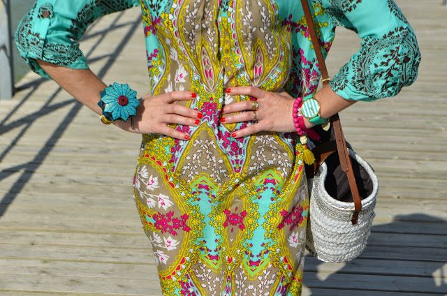 cachemir dress for the beach